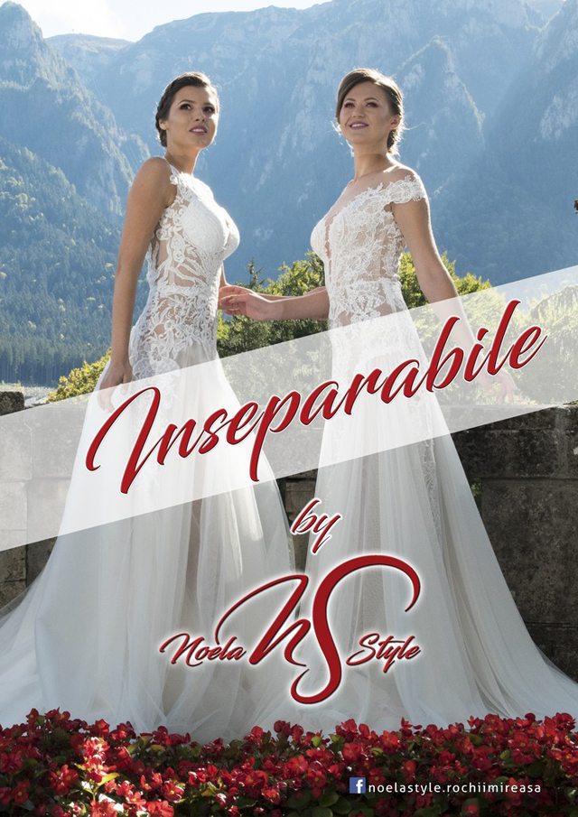 Noela Style: Bride dresses - Inseparabile Collection 2019