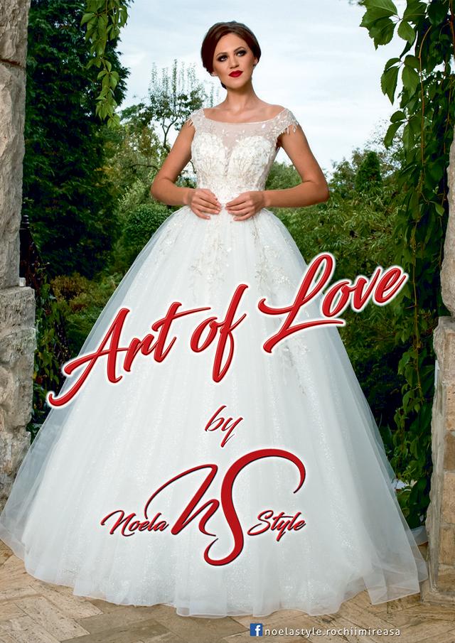 Noela Style: Rochii de mireasa - Colectia Art of Love 2020