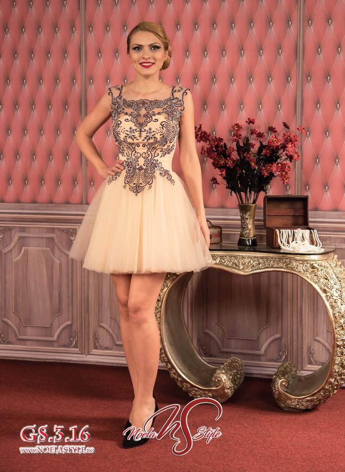 Rochii Gala Scurte Front Seara Elegante Ocazie